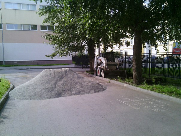 Благоустройство www.nebessagroup.ru