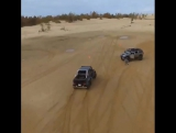 BRABUS G6x6 surfing the Silver Lakes