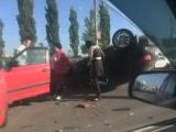 Авария в Сипайлово 24 мая 2016. Автор видео: Александр Вольский