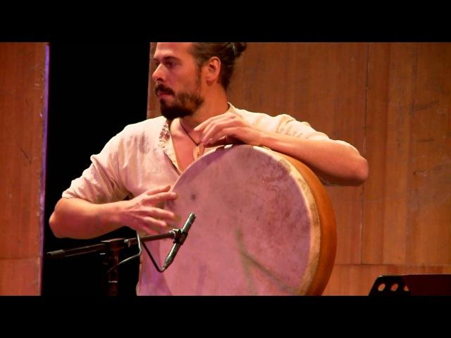 Frame Drum solo, Andrey TanzuРамочный барабан, соло Андрей Танзю