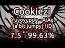 Cookiezi | Yuyoyuppe - AiAe [a bit jumpy] | HD 99.63% | Liveplay w/ Twitch Chat