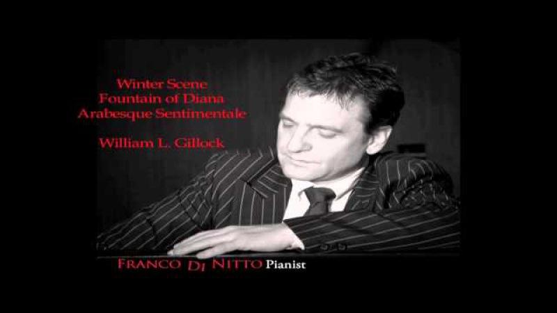 Winter Scene, Fountain of Diana, Arabesque Sentimentale by William Gillock (HQ sound)