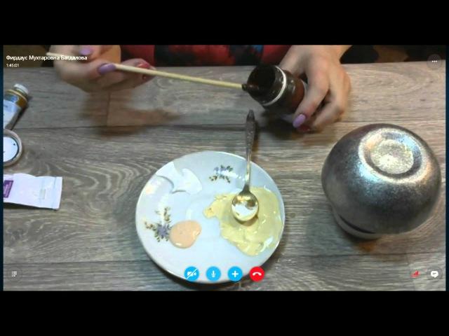Фирдаус Батдалова Волшебное превращение керамической шкатулки в новогодний по ...