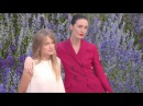 Cressida Bonas and Erin O'Connor attending the Dior Fashion Show