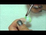 Наращивание и дизайн ногтей. Курс Резьба - Радужный ажур