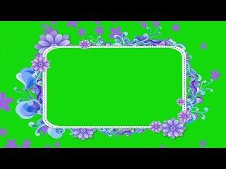 Flores Caindo #5 - Flowers Falling #5 [Fundo Verde - Green Screen]
