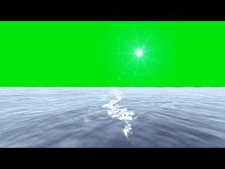 Oceano #1 - Ocean #1 [Fundo Verde - Green Screen]