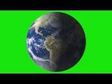 Planeta Terra #1 - Planet Earth #1 [Fundo Verde - Green Screen]
