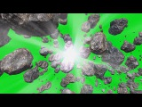 Asteroides #2 - Asteroids #2 [Fundo Verde - Green Screen]