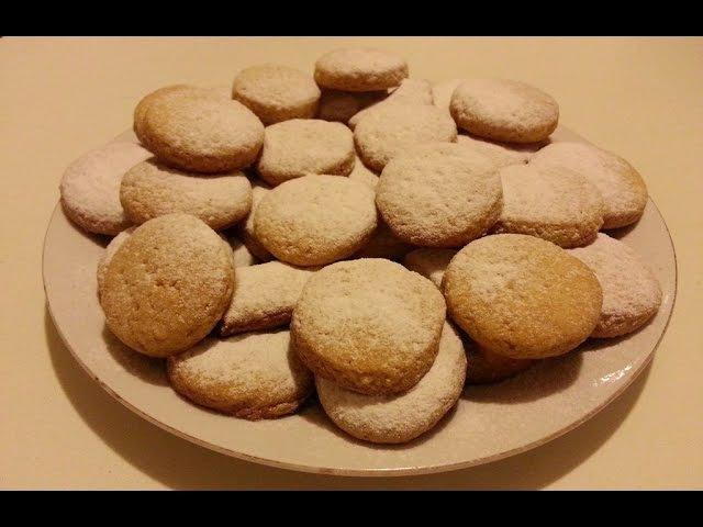 Песочное печенье Коржики вкус детства бабушкины рецепты Shortbread taste of childhood