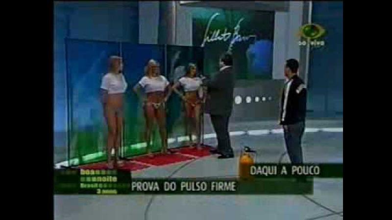 Boa Noite Brasil. Camiseta Molhada 4