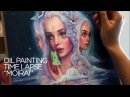 OIL PAINTING TIME LAPSE three goddesses Moirai