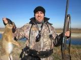Охота на зайца 2015-коллективная!Слабонервным не смотреть!Жесть+18