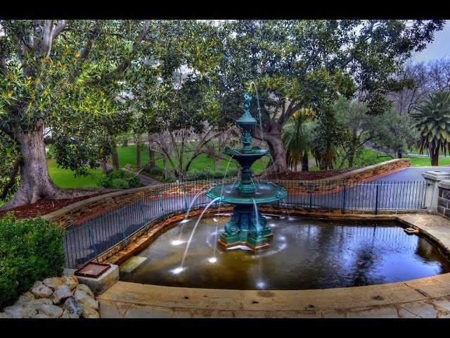 City of Greater Bendigo Victoria Australia tourism bendigo rosalind park