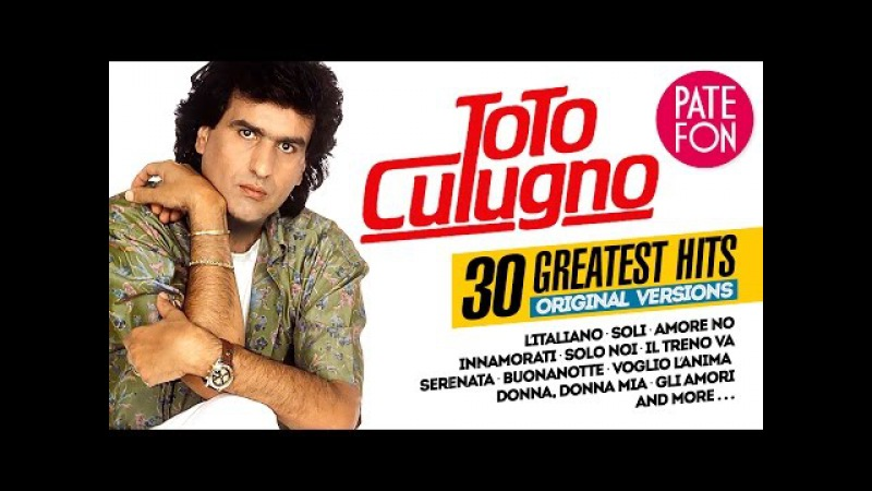 Toto CUTUGNO - 30 GREATEST HITS (Original versions)/LP Vinyl Quality