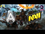 El Clásico Alliance vs NaVi #1 showmatch Betway Fight Night Dota 2