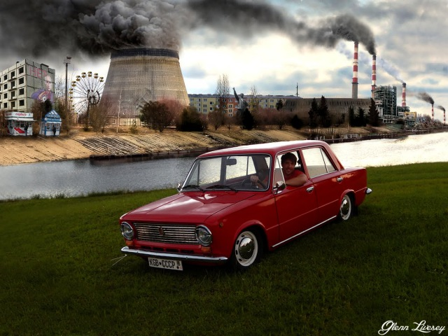 Driving a Lada around the USA