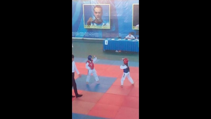 Taekwondo. Turnir Qizilorda. Shyeli - Bestam. 1-raund