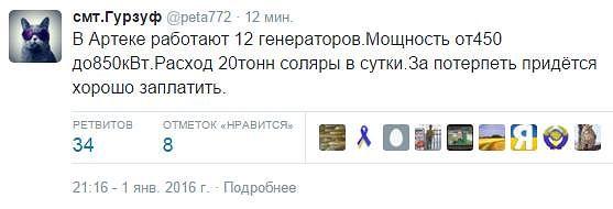 Аннексированному Крыму не хватает электроэнергии. Дефицит составляет 400 мегаватт - Цензор.НЕТ 9780