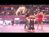 1-2 GR - 85 kg- M. MANUKYAN (ARM) df. R. AZIZSIR (GER) by TF, 12-4