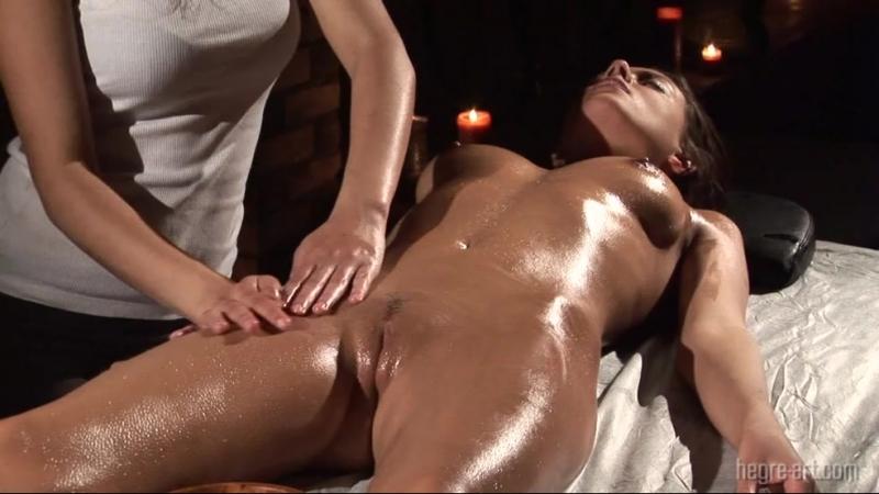 Видео массаж наголо