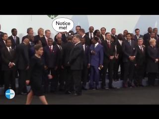 Обама не пожал руку Порошенко