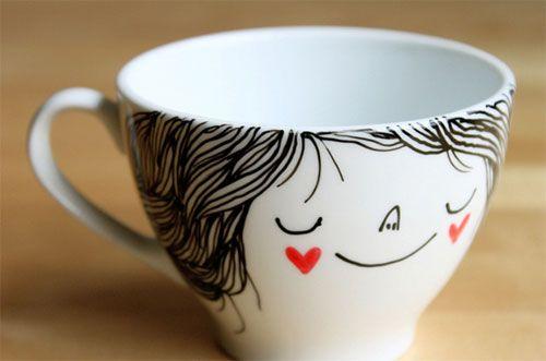 Чашки своими руками картинки