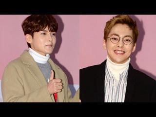 [tvdaily] ★슈퍼주니어 려욱★엑소 시우민★ 도경수 응원 온 의리남들