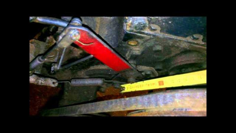 ленточные тормоза своими руками на мини трактор №2