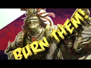 Total War Warhammer! Война с Вампирами!