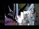 Поворотный кронштейн держатель запасного колеса для лада ларгус