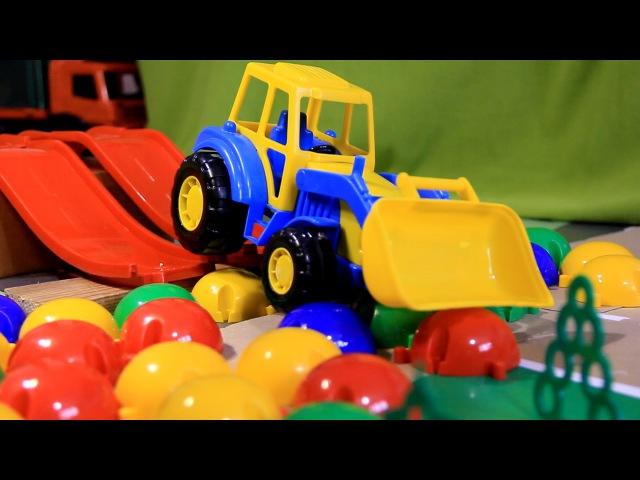 Тракторы для детей Гонки на тракторах Смотреть мультфильм про трактор Tractors For Children Race » Freewka.com - Смотреть онлайн в хорощем качестве