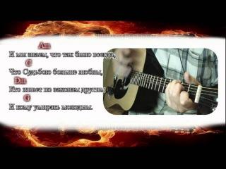 Аккорды к песне Звезда по имени солнце группа Кино  Виктор Цой
