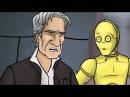 Как должны были закончиться Звёздные войны эпизод 7 Пробуждение силы RUS