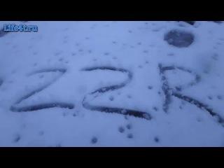 Депрессивно суицидальное настроение - это когда в апреле идёт снег )) + Погода в Ульяновске