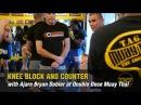 Ajarn Bryan Dobler Knee Block and Counter