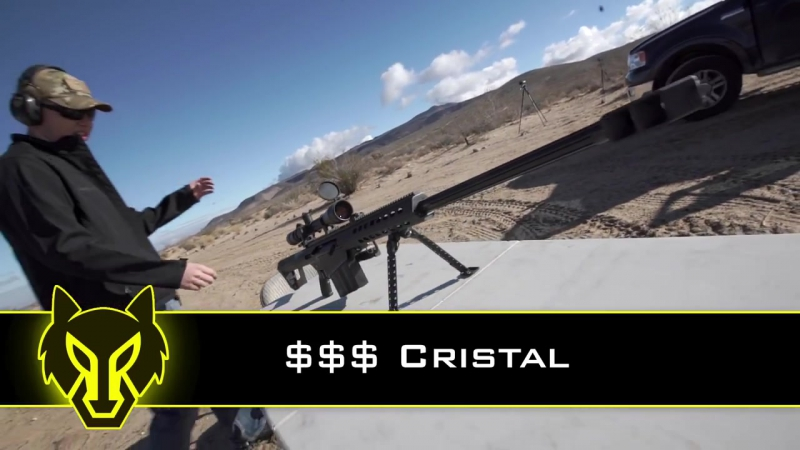 How To Uncork Cristal with a 50 Cal