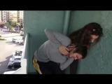 Naughty Woman Likes Beating Up Men Using Headlocks