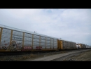 Railfanning BNSF Manitoba w Cabooose, CP and CN With Horn Shows in Winnipeg, Manitoba (04222016)