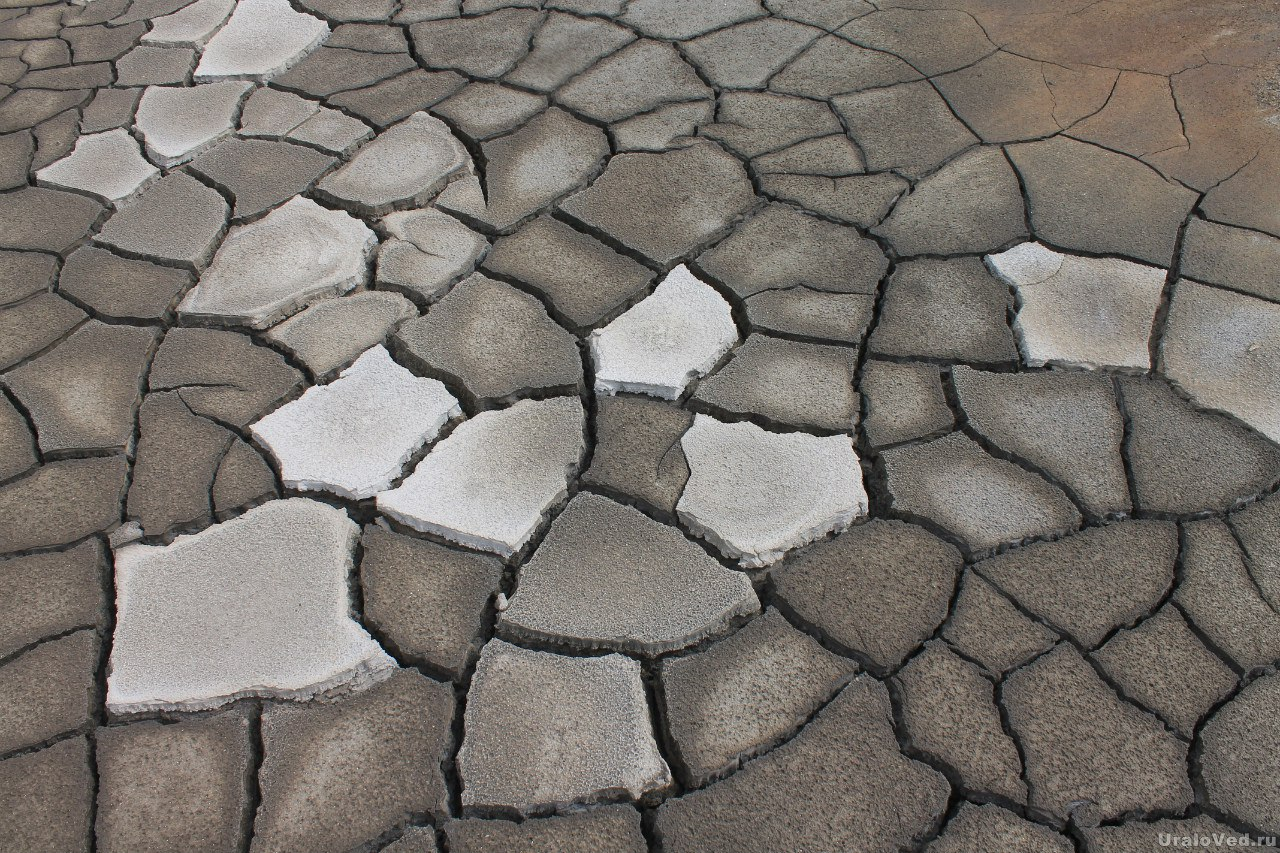 Трещины в глине
