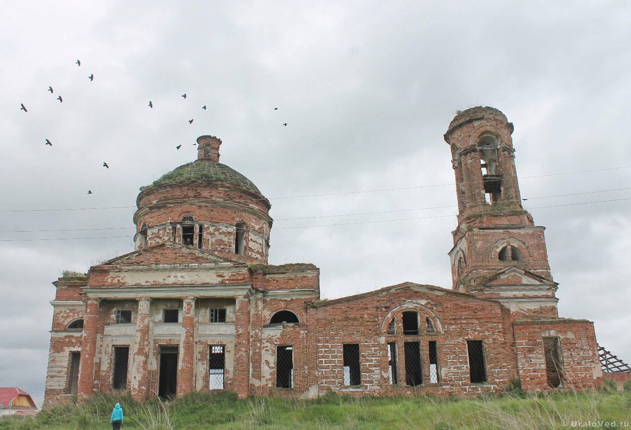 Церковь в селе Никольское