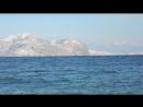 Чёрное море Солнечная Долина Крым 1 января 2016