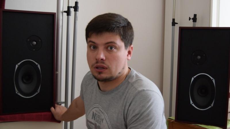 Александр Хованов. Доступная акустика на ШП Alphard ETP-1623Z1 ВЧ. Второе видео.