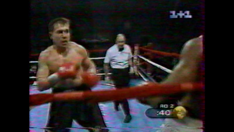 2000-10-07 Oleg Maskaev vs Kirk Johnson (PABA Heavyweight Title)