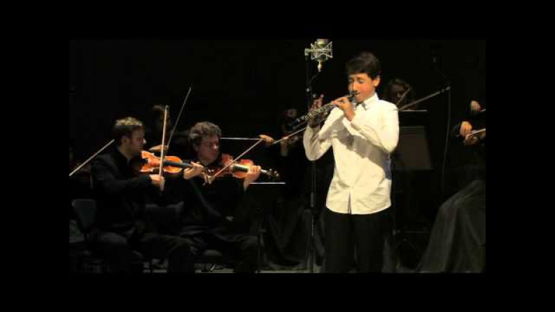 Domenico Cimarosa Concerto for Oboe parts 1-2. Pijus Paškevičius, oboe (13 yrs)