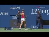 Simona Halep vs Kirsten Flipkens | US Open 2016 - Tour 1 | Highlights