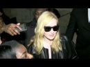 Iggy Azzalea giving big to the fans at Armani Prive show in Paris