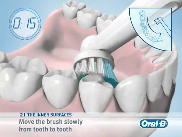 How to use an Braun Oral B Toothbrush
