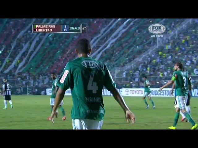 [HD] Palmeiras 1x0 Libertad [Melhores Momentos] Libertadores2013