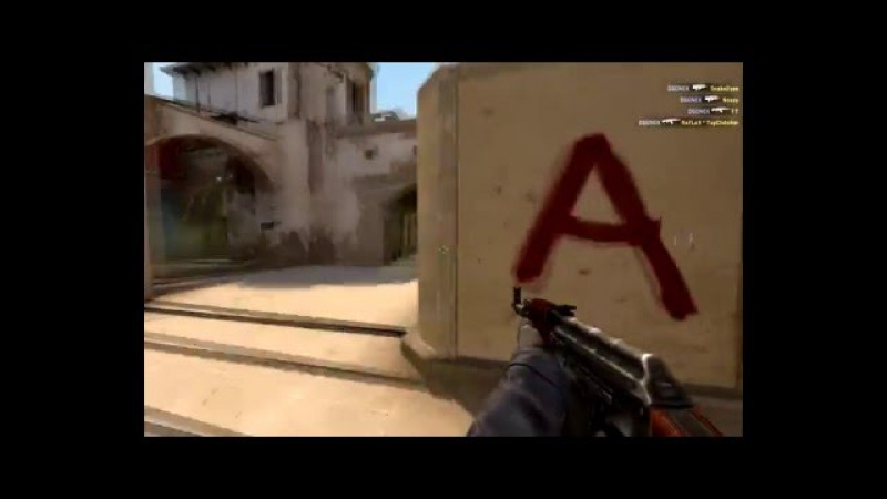 Frag movie ACE with famas and ak-47 by OGONEK
